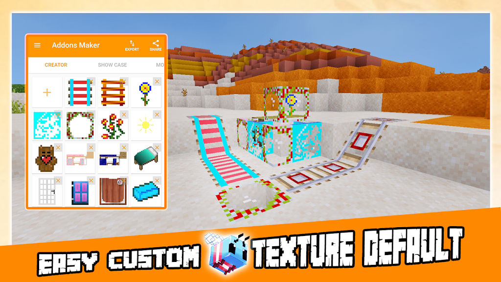 AddOns Maker for Minecraft PE poster 12