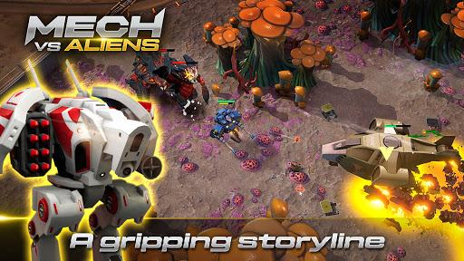 Mech vs Aliens: Top down shooter   RPG  screenshots 7