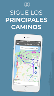 Camino de Santiago CaminoTool Screenshot