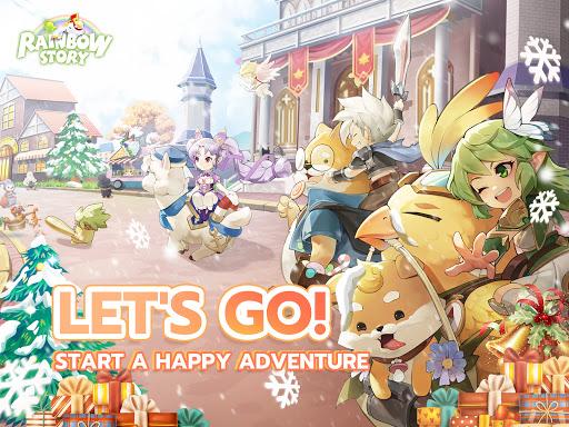 ud83cudf84Rainbow Storyud83cudf84: Fantasy MMORPG 1.2.8.43 screenshots 7