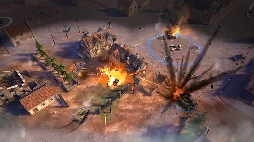 World War Commander: WW2 RTS - War Strategy Game screenshots 1