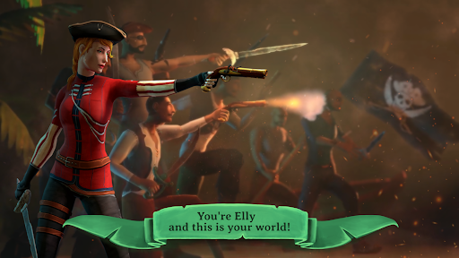 Elly and the Ruby Atlas – Pirate Games Free screenshots 1