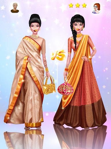 Wedding Fashion Stylist: Indian Dress up & Makeup 1.0 screenshots 5