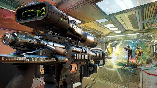 FPS Shooter 3D- Free War Robot Shooting Games 2021  screenshots 5