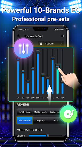 Music Player - MP3, Equalizer android2mod screenshots 4