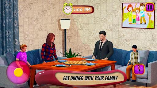 Virtual Mother Life Simulator - Baby Care Games 3D Apkfinish screenshots 21
