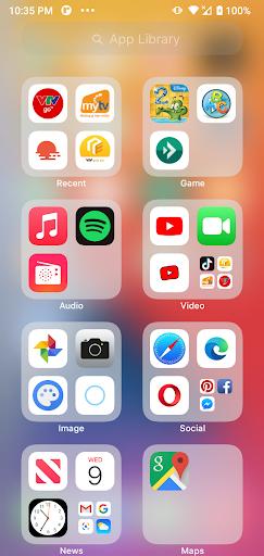 Launcher iOS 15  screenshots 2