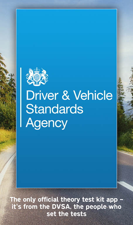Official DVSA Theory Test Kit poster 1