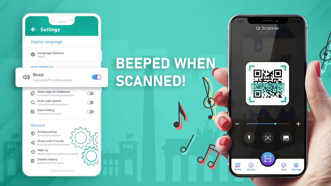 أفضل جودة قارئ الباركود QR and Barcode Scanner