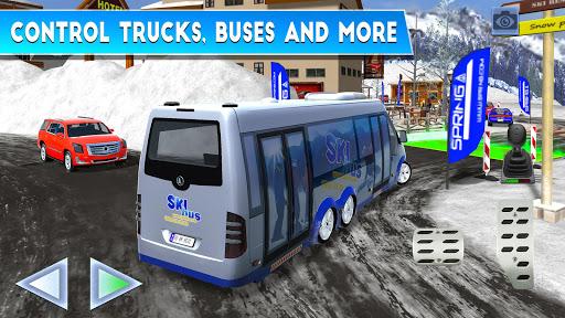 Winter Ski Park: Snow Driver 1.0.3 screenshots 4