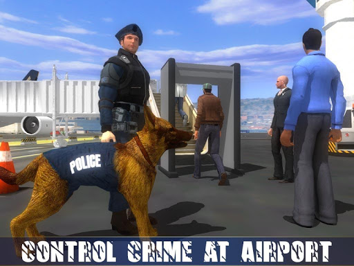 Police Dog Airport Crime Chase : Dog Games android2mod screenshots 9