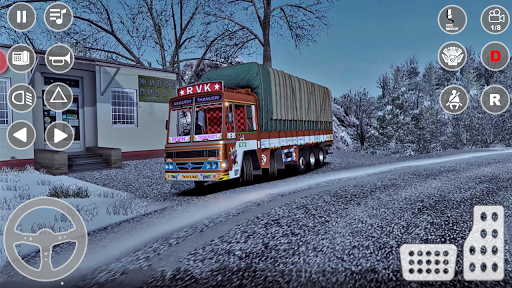 Indian Truck Cargo Simulator 2020: New Truck Games android2mod screenshots 14