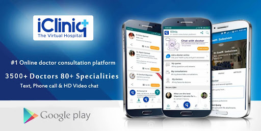 iCliniq screenshot for Android