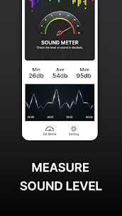 Sound Level Meter Pro – Decibel & Noise meter For Android 1