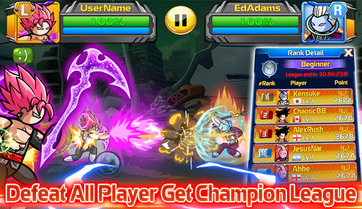 Stickman PvP Online - Dragon Shadow Warriors Fight  screenshots 10