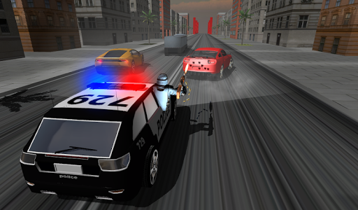 Police Car Racer 3D 12 screenshots 3