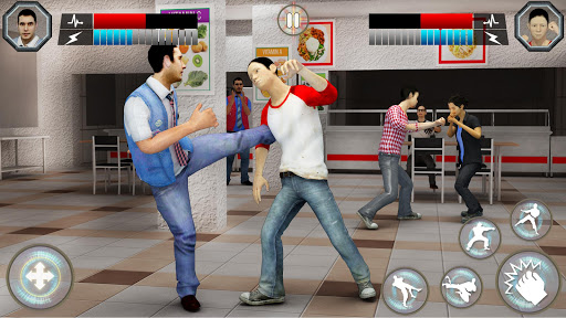 High School Bully Gangster: Karate Fighting Games 1.1.3 screenshots 3