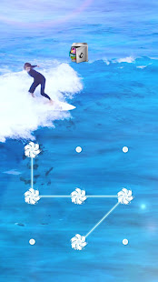 AppLock Live Theme Surfing – Paid Theme