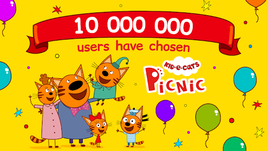 Kid-E-Cats: Picnic with Three Cats・Kitty Cat Games 1