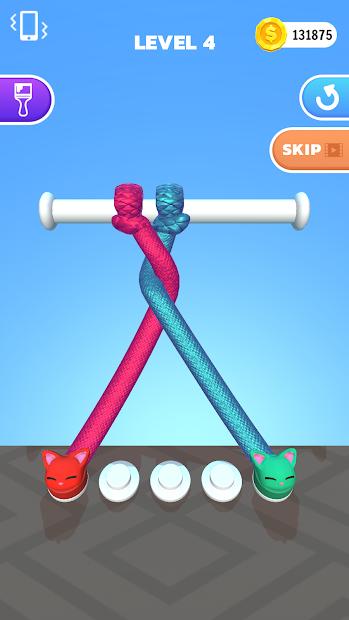 Tangle Master 3D Android App Screenshot