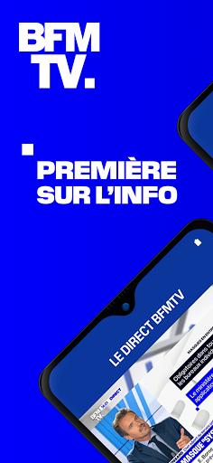 BFMTV - Actualitu00e9s France et monde & alertes info 7.2.0 Screenshots 1