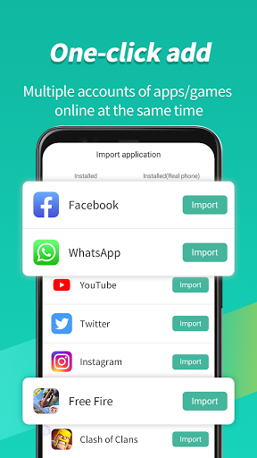 Virtual Android - Multiple Accounts ParallelSpace Screenshots 10