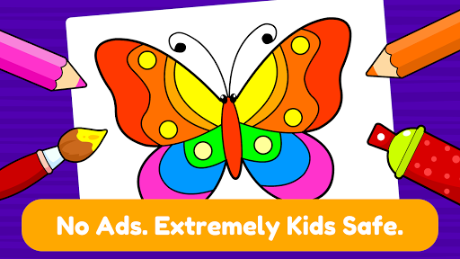 Learning & Coloring Game for Kids & Preschoolers  screenshots 15
