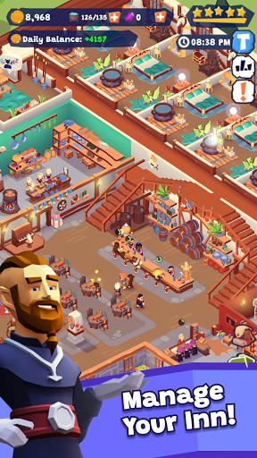 Idle Inn Empire Tycoon - Game Manager Simulator apktram screenshots 1