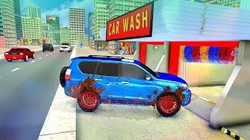 Real Prado Car Wash Service Station Free Car Games