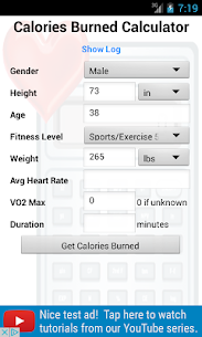 Calories Burned Calculator  For Pc – Free Download In Windows 7/8/10 & Mac 1