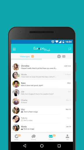 Europe Mingle - Dating Chat with European Singles 6.5.0 Screenshots 5