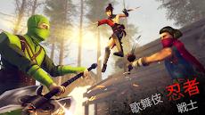歌舞伎忍者戦士サムライスピリッツ-忍の影アドベンチャー-ソードファイトゲーム3Dのおすすめ画像1