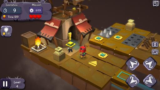IndiBoy - A treasure hunter Dungeon Quest Apkfinish screenshots 9