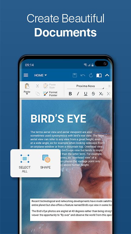 OfficeSuite - Word docs, Excel sheets, PDF & more  poster 0