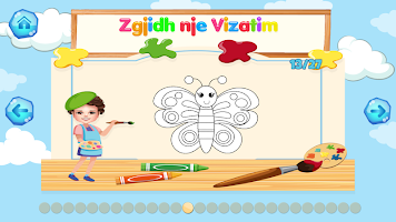 Piktori i Vogel - Loje edukative per femije shqip