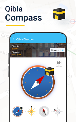 Qibla Connectu00ae Find Direction- Prayer, Azan, Quran 7.7 Screenshots 7