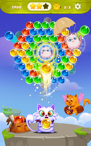 Bubble Shooter: Free Cat Pop Game 2019 1.22 screenshots 12