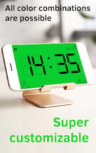 Huge Digital Clock Pro MOD (Paid) 4