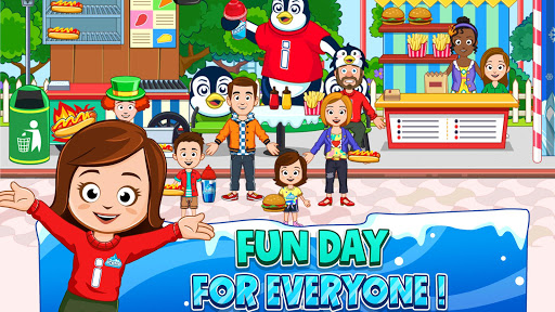 My Town : Fun Amusement Park Game for Kids Free screenshots 4