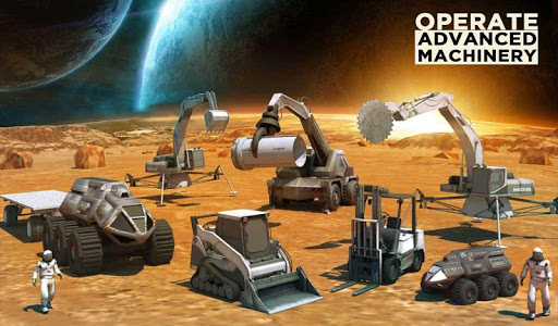 Space Station Construction City Planet Mars Colony  screenshots 16