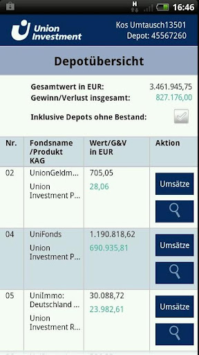 FondsOnline  screenshots 3