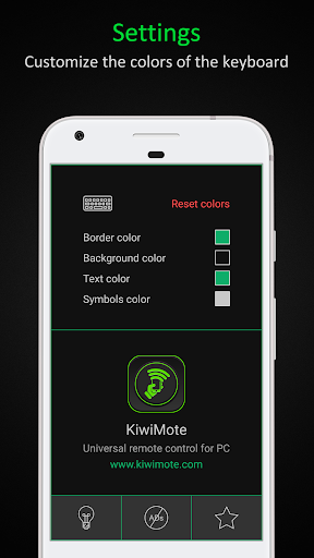Foto do KiwiMote: WiFi Remote Keyboard and Mouse for PC