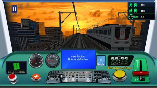 Indian metro train simulator  screenshots 3