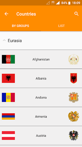 Flags of the World & Emblems of Countries: Quiz  screenshots 6