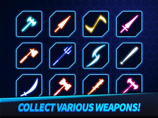 Ninja Slice Master : Stickman Neon Action  screenshots 9