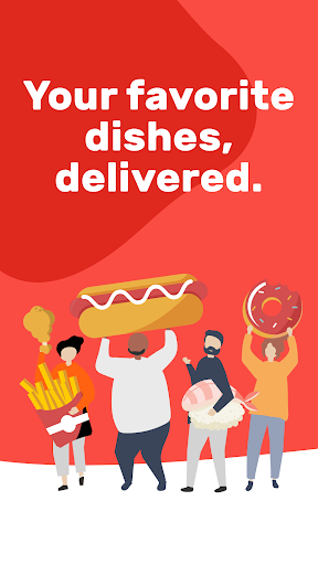 Foodracers: food delivery  screenshots 1
