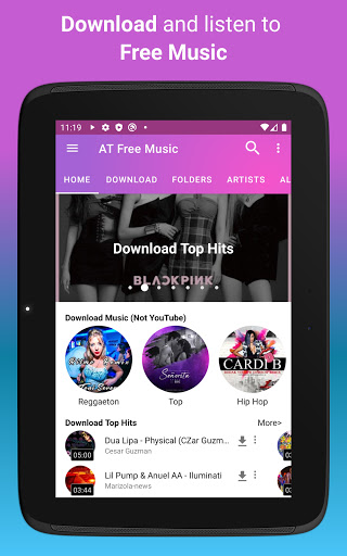 Download music, Free Music Player, MP3 Downloader 1.137 Screenshots 10