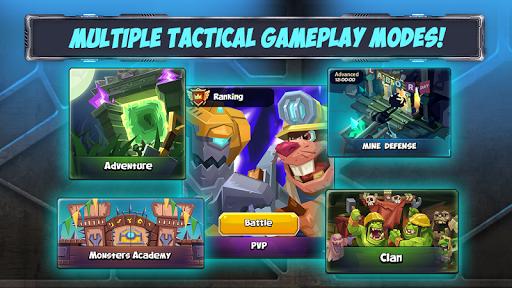 Tactical Monsters Rumble Arena -Tactics & Strategy screenshots 22