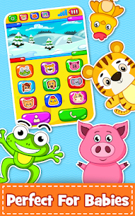 Baby Phone for toddlers - Numbers, Animals & Music Screenshot