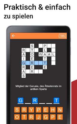 Kreuzwortru00e4tsel Deutsch kostenlos  Screenshots 5